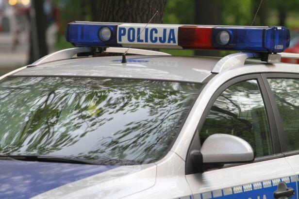 Policjanci zatrzymali kobietę archiwum TVN24