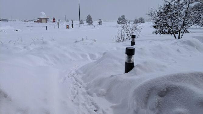 Rekordowe opady śniegu. <br />W jeden dzień nasypało tyle, co w rok