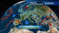 Polska jest pod wpływem klina wysokiego ciśnienia
