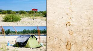 Mikrowyprawa na nadwiślańską plażę