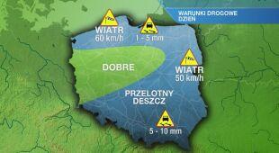 Warunki drogowe w czwartek 10.09