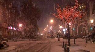Śnieg w Zakopanem/TVN24